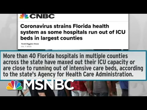 Officials Begin To Roll Back Reopenings As COVID-19 Cases Explode   Rachel Maddow   MSNBC