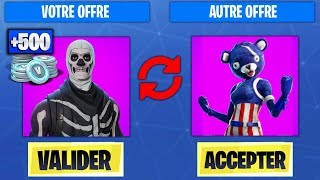 HOW TO CHANGE SKINS AND V-BUCKS WITH YOUR AMIS on Fortnite Battle Royale!