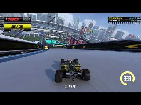 Trackmania Turbo - #160 Gold Medal - Red Series Stadium |