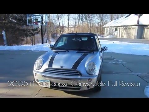 2005 MINI Cooper Convertible Full  and Startup