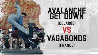 Avalanche Get Down vs Vagabonds - Grupa B na Warsaw Challenge 2018