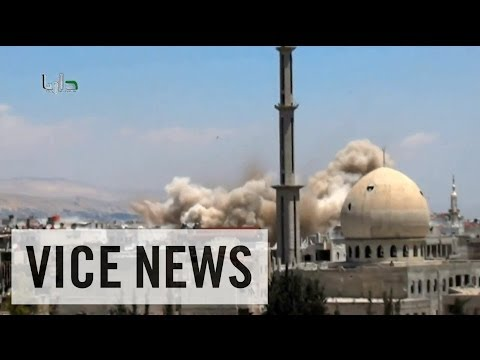 Bombing Outside of Damascus: This Just In