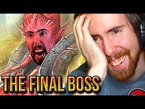 "Asmongold LOSES IT While Watching ""What If Asmongold Was A RAID BOSS"" - Porcupine Monarch"