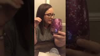 Glitter Make up Glasses EASY