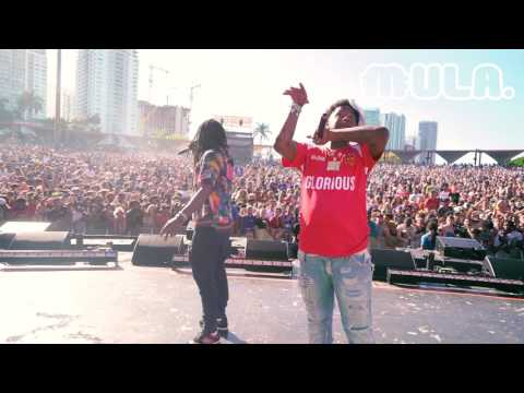 Chief Keef Rolling Loud Vlog & Performances shot by @colourf