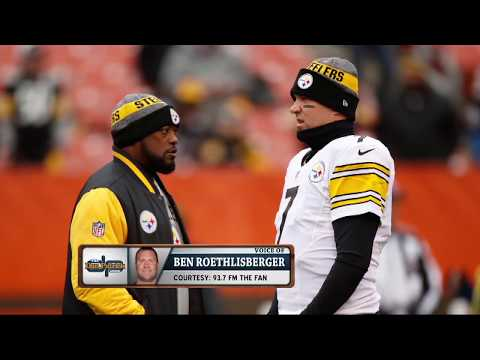 "Dan Patrick on Big Ben Criticizing Steelers Drafting a QB: ""It Sounded a Little Petty"" 