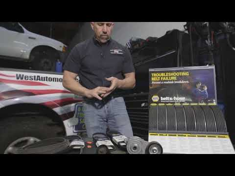 Replacing the Belts on Your Vehicle