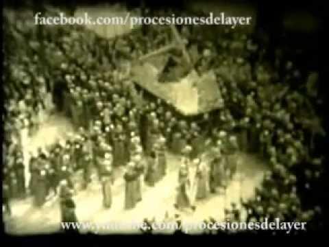 1940 Semana Santa Guatemala Viernes Santo Jesus Nazareno Templo de la Merced