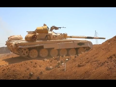 Battles for South Syria | June 24th - 26th 2018 | Lajat plateau