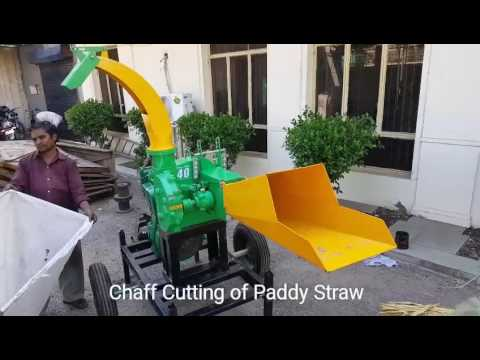 paddy straw Chaff grass cutter - 40 max