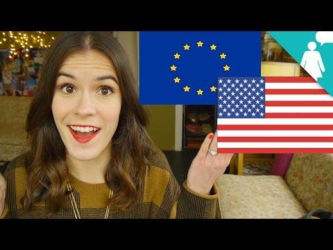 American Girls vs. European Women
