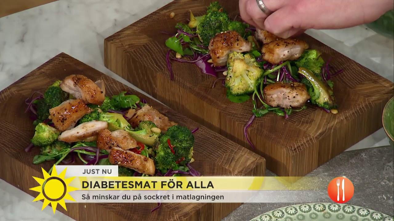 bra mat för diabetiker recept