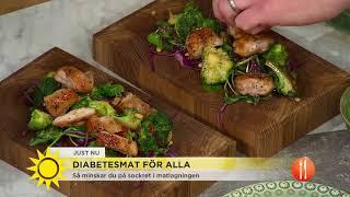 Hans dotter fick diabetes - nu gör han diabetesmat för alla - Nyhetsmorgon (TV4)