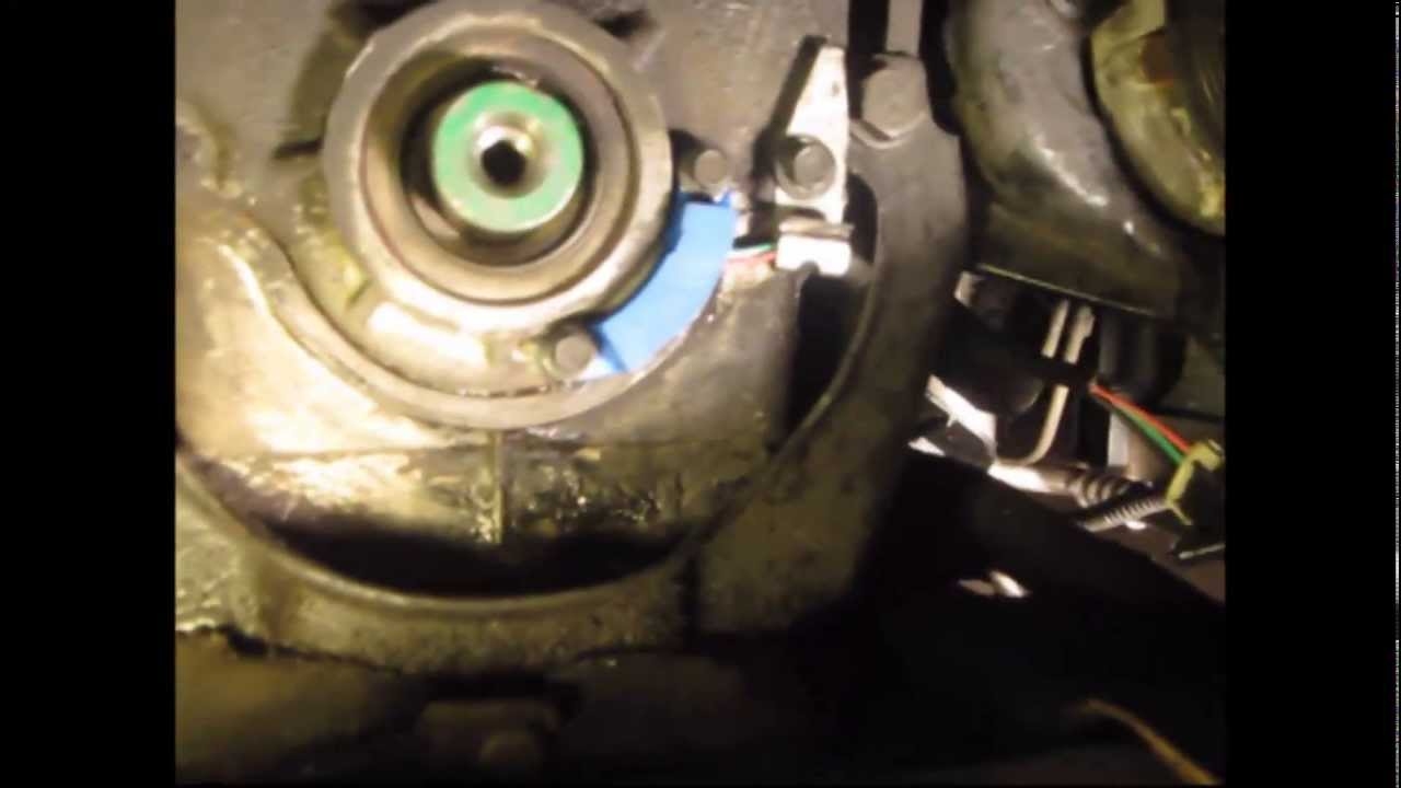 1993 Pontiac Bonneville Electrical Wiring Crank Sensor Remove Install Youtube