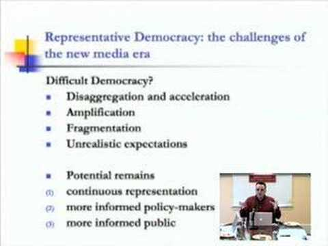 Steve Ward on Politicians and the Public in the Internet Age