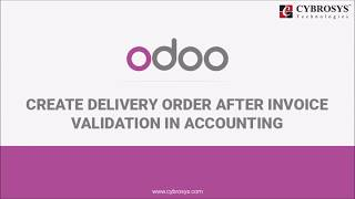 How to Manage Delivery Order in Odoo (After invoice validation)