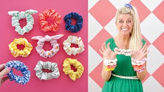 How to make SCRUNCHIES -- any …