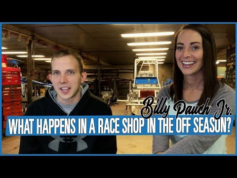 What Happens In A Race Shop In The Off Season?