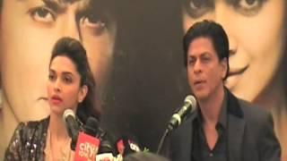 Shahrukh Khan & Deepika Padukone in Dubai