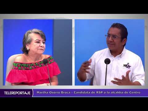 Cortar la corrupción a través de la tecnología propone Martha Osorio Broca