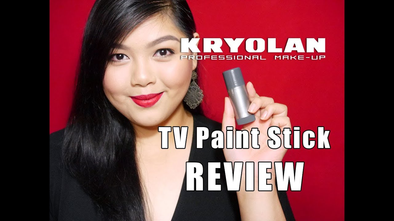 Kryolan TV Paint Stick REVIEW by Bing Castro