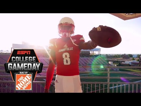 Stopping Lamar Jackson is a challenge for any opponent   College GameDay   ESPN