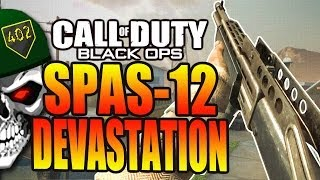 COD Black Ops | Spas-12 Nuketown Ownage! Why I'm Not Buying COD Ghosts NEW DLC Devastation Map Pack