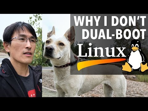 "Why I don't dual-boot Linux (""Linux is free, if you don't value your time."")"
