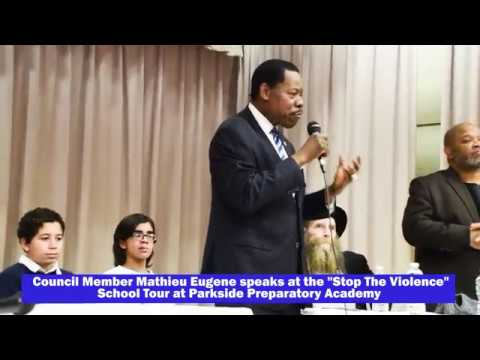 """""""Stop The Violence"""" School Tour at Parkside Preparatory Academy"""
