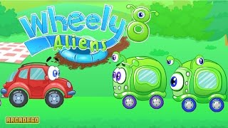 Wheely 8: Aliens Walkthrough All Levels