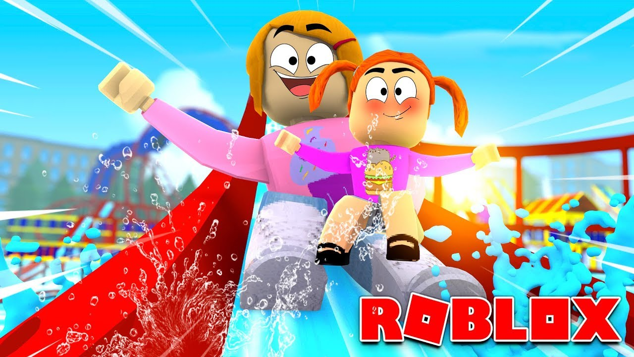 Roblox Roleplay Molly Takes Baby Daisy To The Waterpark