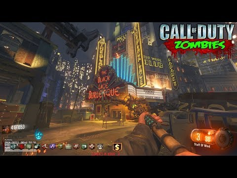 ROUND 22 WORLD RECORD SPEEDRUN WITH INSANE WEAPONS - CALL OF