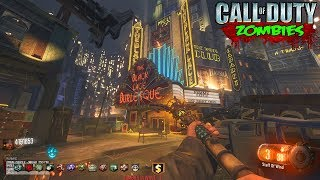 ROUND 22 WORLD RECORD SPEEDRUN WITH INSANE WEAPONS - CALL OF DUTY BLACK OPS 3 ZOMBIES GAMEPLAY!