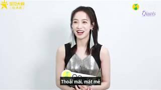 [Vietsub] Tống Thiến - Phỏng vấn QQ Music l Hỏi đáp về album,  phim Kế Hoạch Nguồn Nhịp Tim