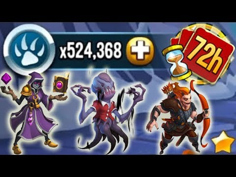Monster Legends - 72 Hours Challenge Get all Dungeon Master Montauk Creature Epic