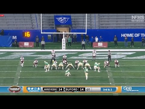Buford Beats Warner Robins In Georgia 5A State Championship