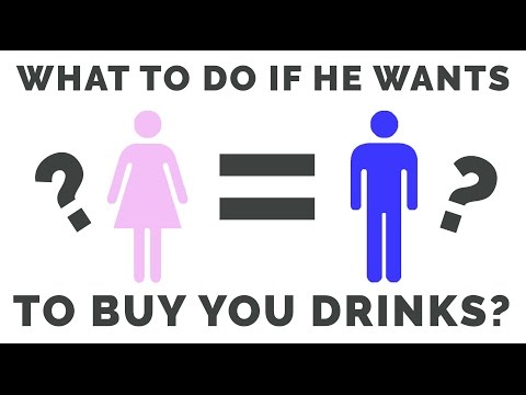 Equal Rights? What to do if Guys Buy You Drinks | Harvey Hooke | Get Him Hooked Workshop
