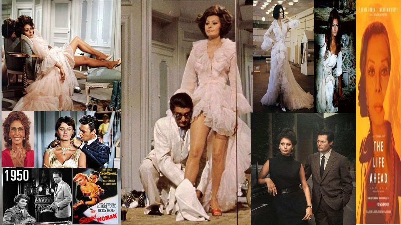 Sophia Loren Complete Movies Timelines List La Favorita 1952 From To The Life Ahead 2020 Youtube
