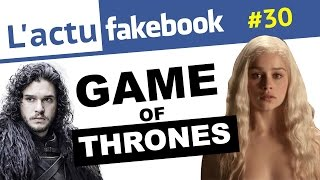 GAME OF THRONES - Actu Facebook #30