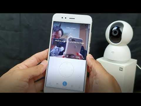 How To Connect Xiaomi Mi Home Security Camera 360 To The Phone Via Wifi