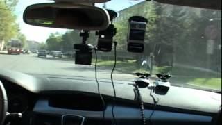 Тест видеорегистраторов и радар-детекторов(Тест видеорегистраторов и радар-детекторов. Программа Автомобиль 225., 2012-05-17T05:55:09.000Z)