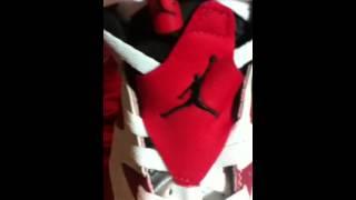 Repeat youtube video Fake Air Jordan Retro 6 Carmine [Dragonkicks]