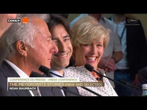 THE MEYEROWITZ / Press Conference / EV / Cannes 2017