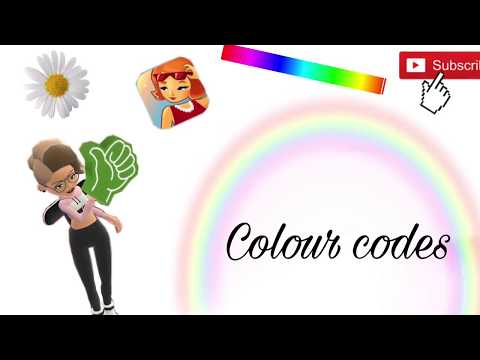FREE COLOUR CODES 2017| HOTEL HIDEAWAY