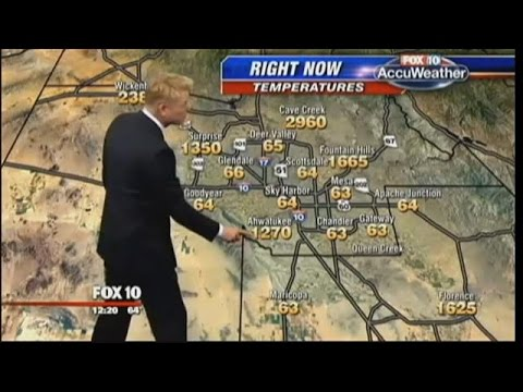 Weather Forecast In The Quadruple Digits Youtube