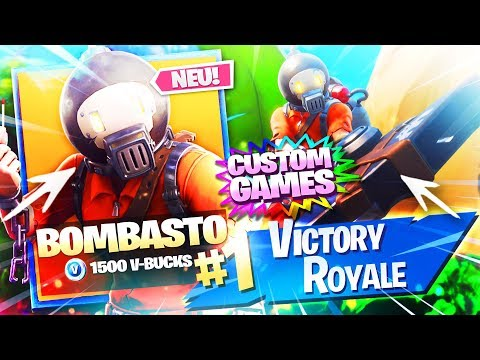 CUSTOM GAMES! + NEUE SKINS IM SHOP🔥🛒LIVE NEUER FORTNITE ITEM SHOP 25.4.19 | Fortnite Battle Royale