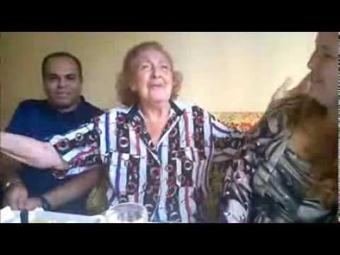Paulo Martan & Cristiane Migon visitam Helena de Lima