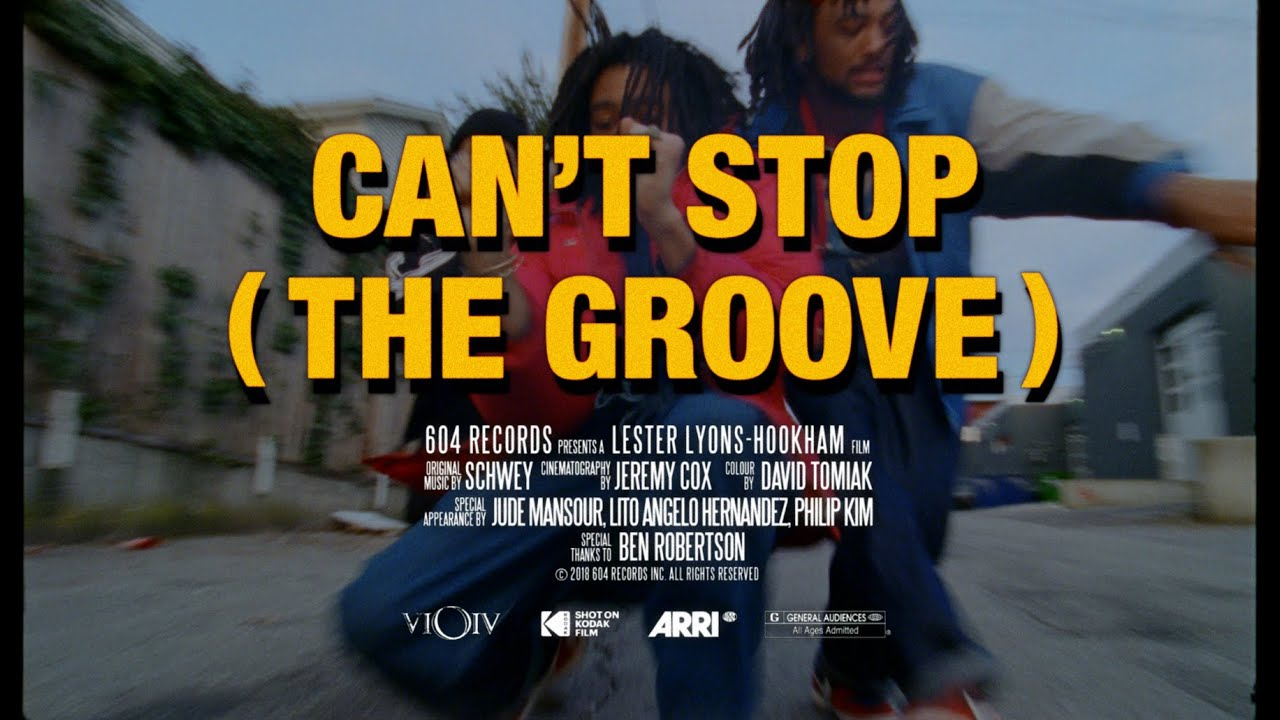 Schwey - Can't Stop (The Groove)