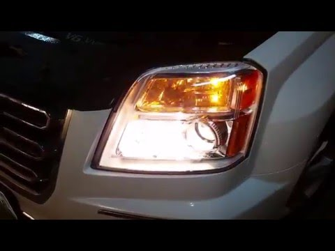 2010 2016 Gmc Terrain Suv Testing Headlights After