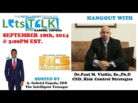 The Internet wasn't built for Security- LetsTALK® with Gabriel Cepeda